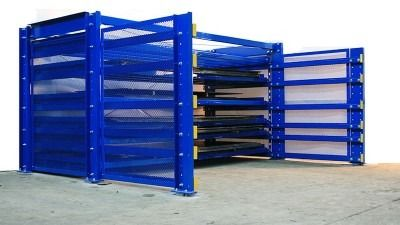 Roll out sheet rack