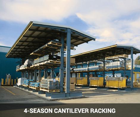 4 season cantilever racking