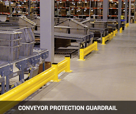 Conveyor Protection Guardrail
