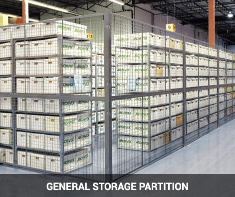 cogan general storage partition