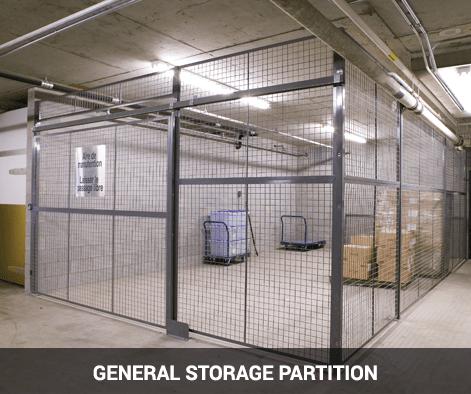 quarantine storage area partition