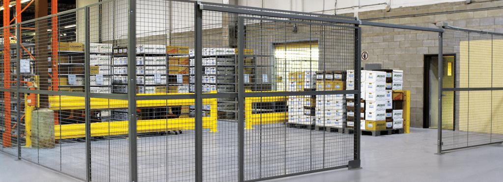 Cogan wire mesh partition