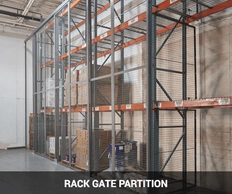 rack gate partition