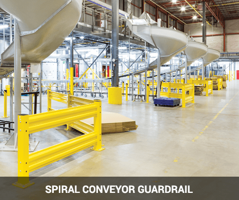 Spiral Conveyor Guardrail